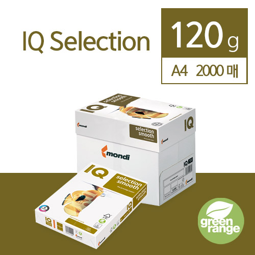 IQ Selection Smooth 120g A4 2000매