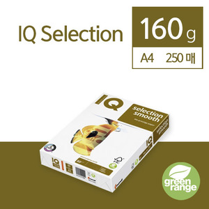 IQ Selection Smooth 160g A4 250매
