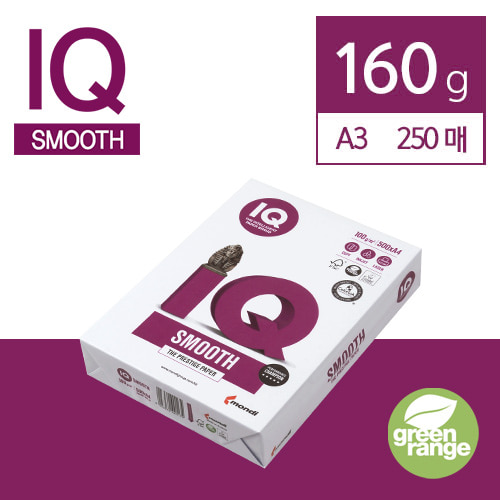 IQ Smooth 160g A3 250매