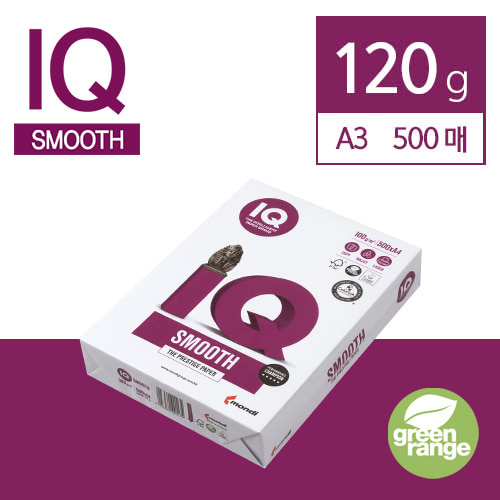 IQ Smooth 120g A3 500매