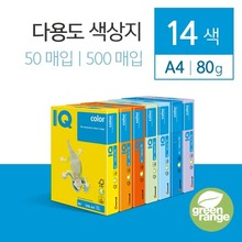 IQ Color A4 색상지